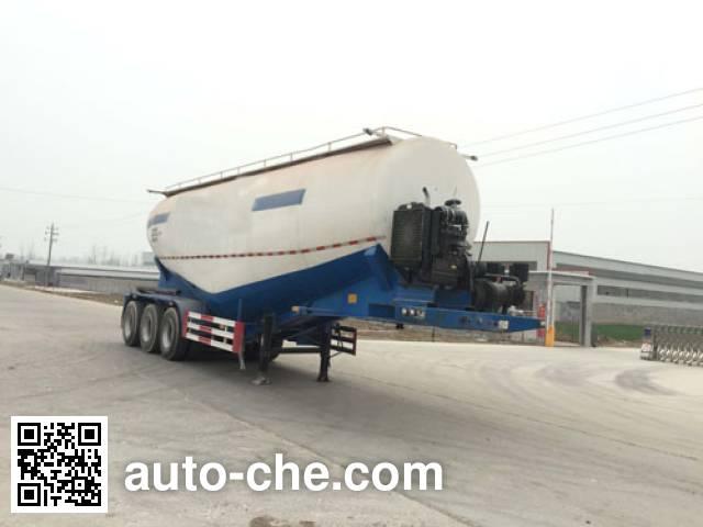 辰陆牌LJT9400GFL中密度粉粒物料运输半挂车