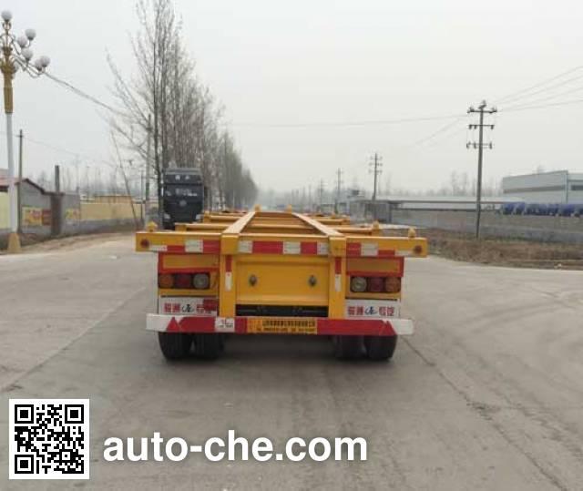 Chenlu LJT9400TJZ container transport trailer