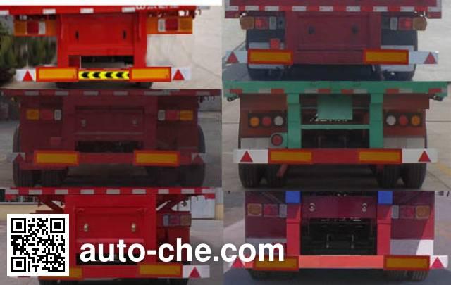 Chenlu LJT9403ZZXP flatbed dump trailer