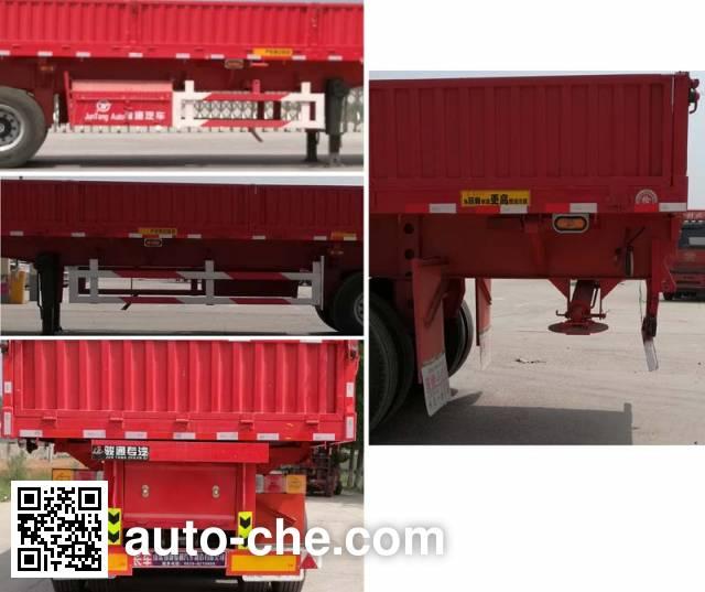Chenlu LJT9400ZLB dump trailer
