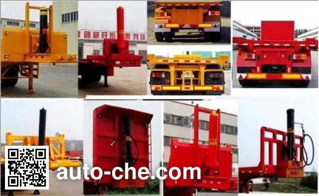 Chenlu LJT9401ZZXP flatbed dump trailer