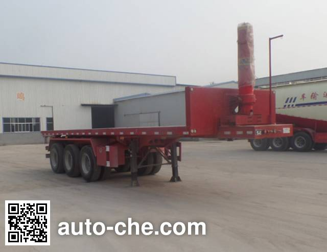 Chenlu LJT9404ZZXP flatbed dump trailer