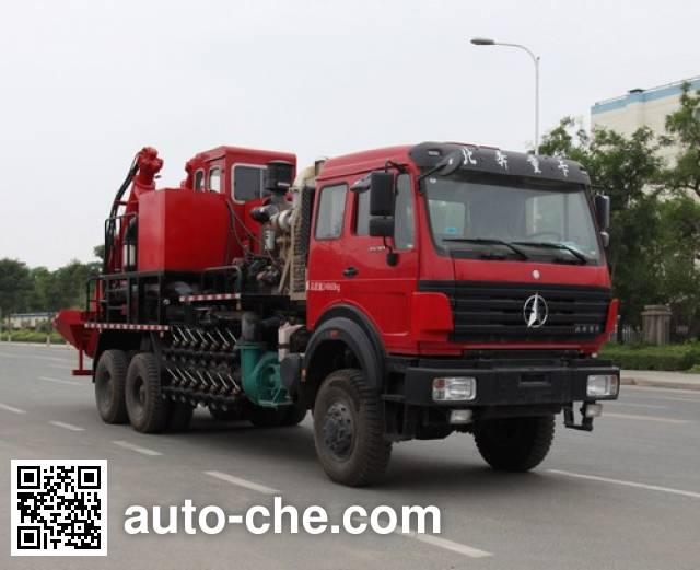Lankuang LK5252THS360 sand blender truck
