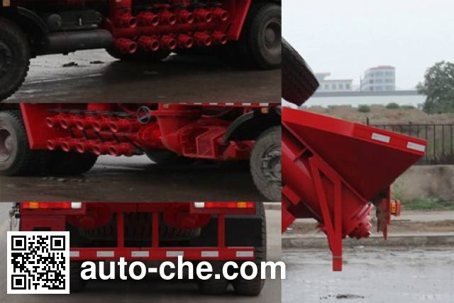 Lankuang LK5254THS360 sand blender truck