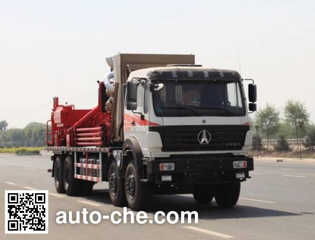 Lankuang LK5312TYL140 fracturing truck
