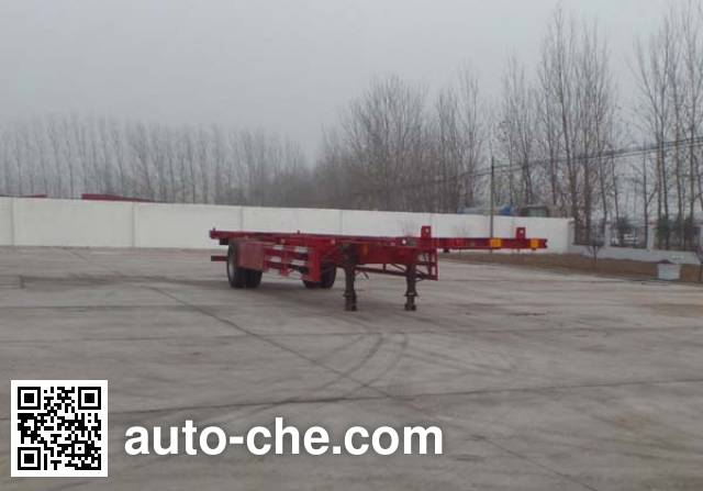 Kunbo LKB9150TJZ empty container transport trailer