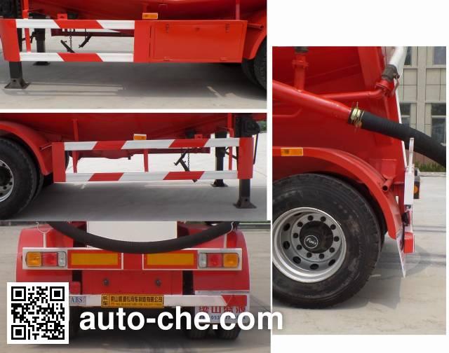 Kunbo LKB9400GFL medium density bulk powder transport trailer