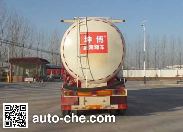 Kunbo LKB9400GFLD low-density bulk powder transport trailer