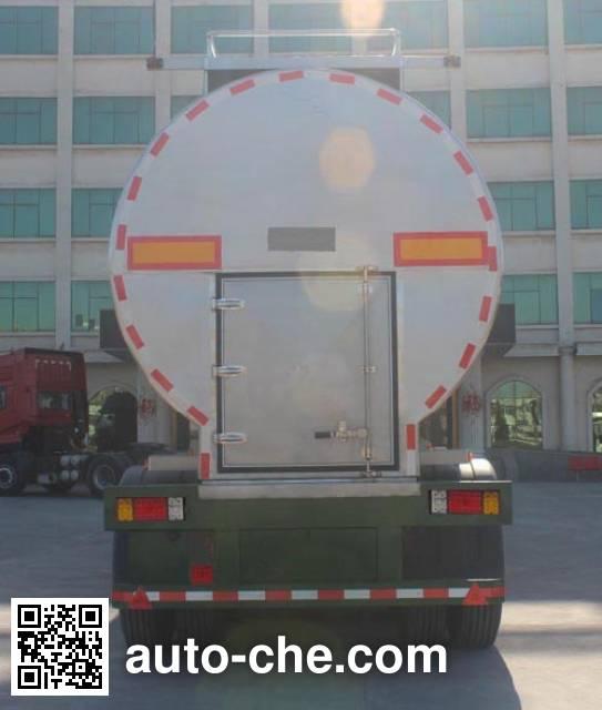 坤博牌LKB9400GNY鲜奶运输半挂车