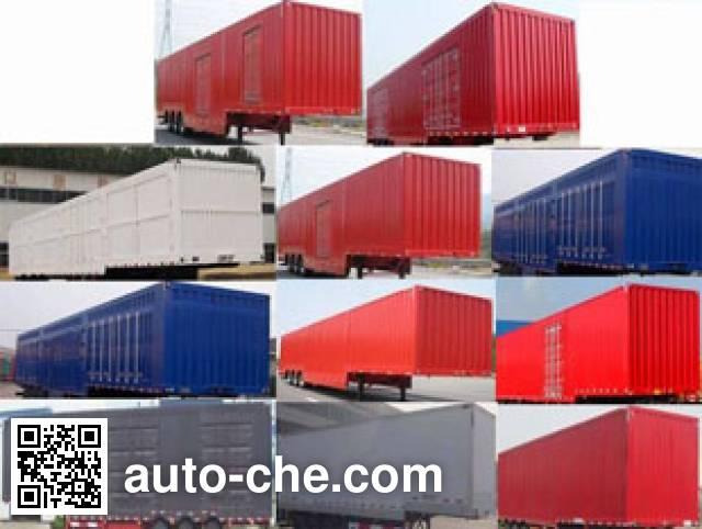 Kunbo LKB9400XXYE box body van trailer