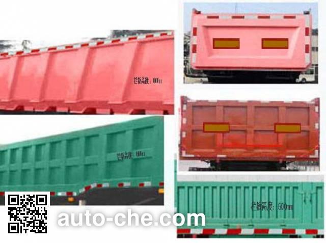 Kunbo LKB9400ZHE dump trailer
