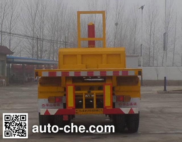 Kunbo LKB9400ZZXP flatbed dump trailer
