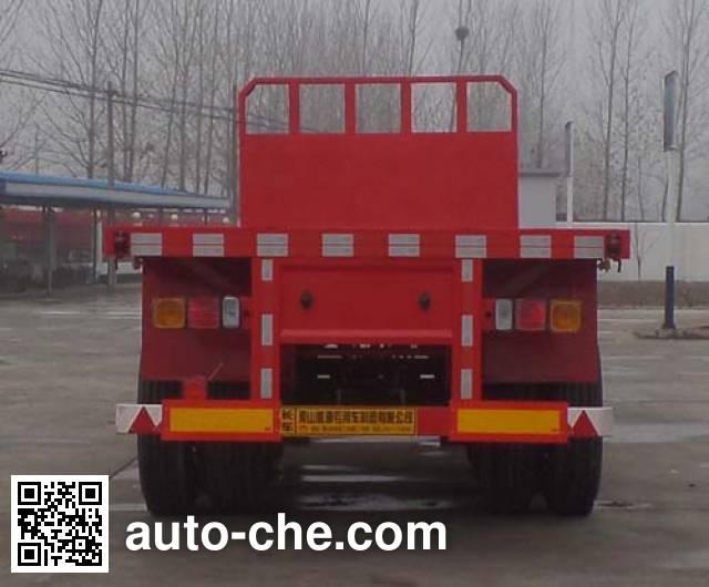 Kunbo LKB9401TPB flatbed trailer