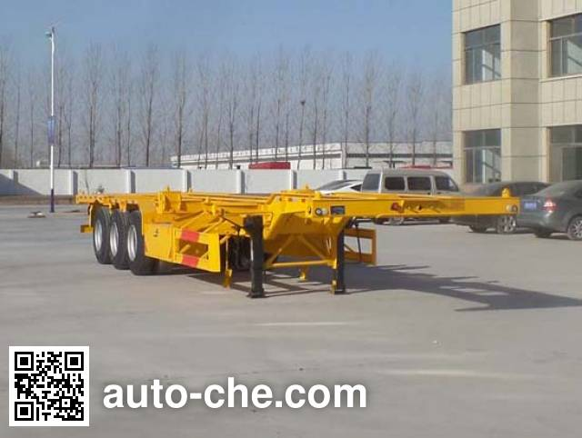 Kunbo LKB9402TJZE container transport trailer