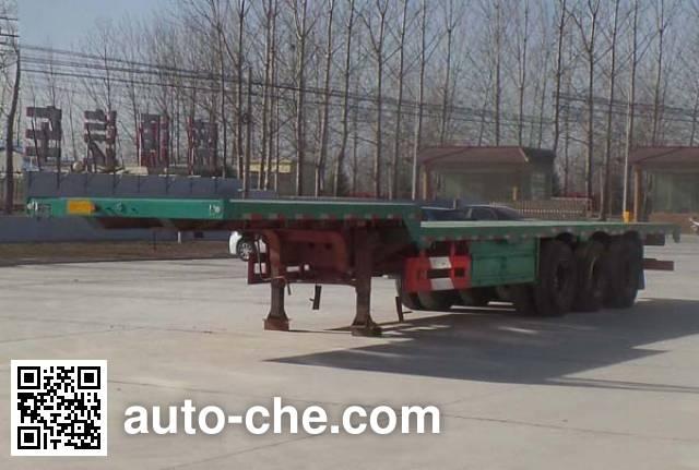Kunbo LKB9402TPBE flatbed trailer