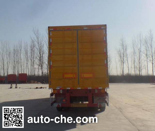 Kunbo LKB9402XXY box body van trailer