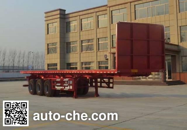 Kunbo LKB9403ZZXP flatbed dump trailer