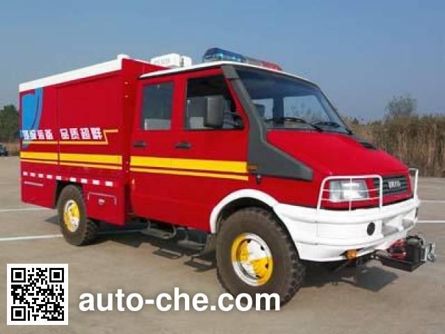 天河牌LLX5053TXFJY60Y抢险救援消防车