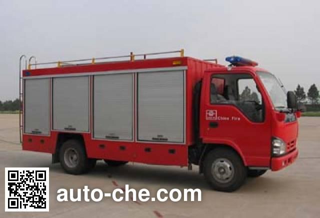 Tianhe LLX5060TXFQJ50 fire rescue vehicle