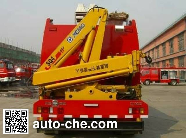 Tianhe LLX5112TXFQJ80 fire rescue vehicle
