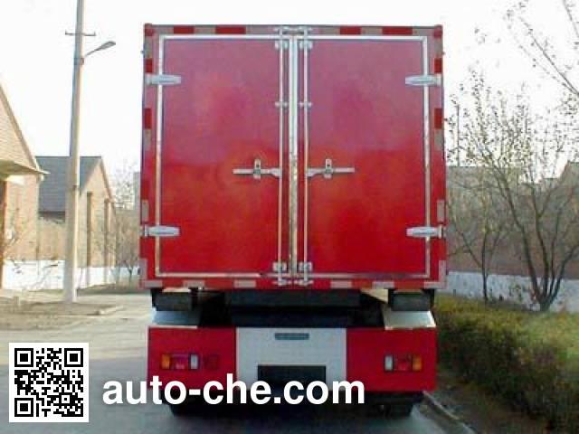 Tianhe LLX5133TXFZX37L hydraulic hooklift hoist fire truck