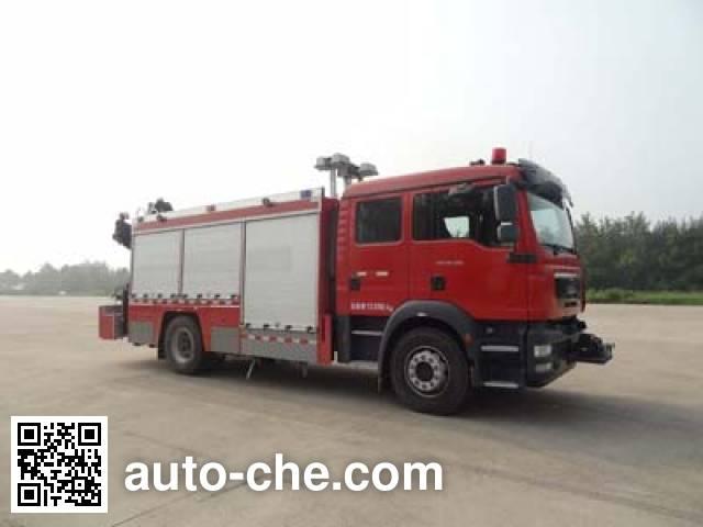 天河牌LLX5134TXFJY100/M抢险救援消防车