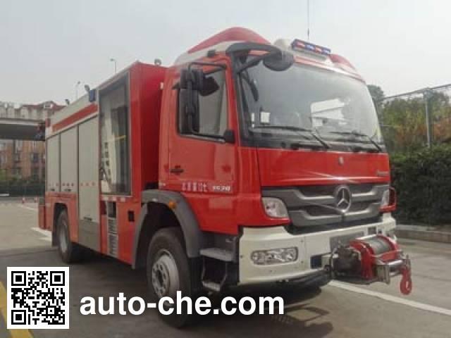 天河牌LLX5134TXFJY80/B抢险救援消防车