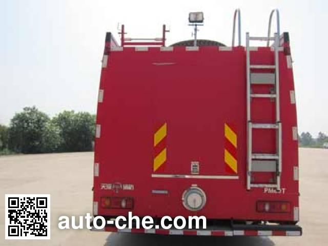 天河牌LLX5164GXFPM60/T泡沫消防车