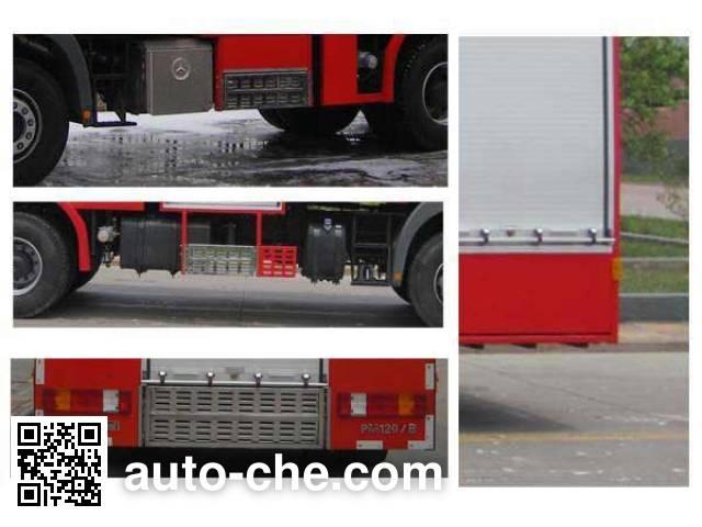 天河牌LLX5284GXFPM120/B泡沫消防车