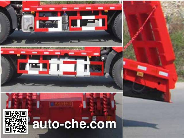 陆平机器牌LPC5250TPBC4平板运输车