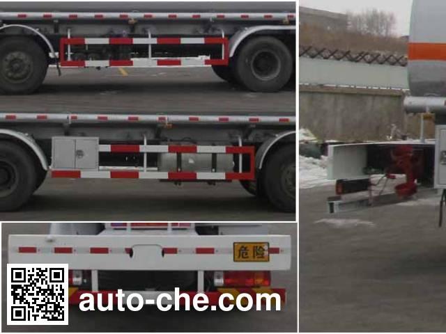 Luping Machinery LPC5311GFWC4 corrosive substance transport tank truck
