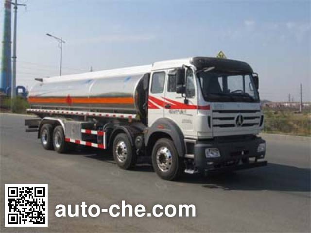 Luping Machinery LPC5311GYYN4 aluminium oil tank truck