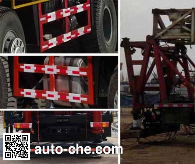 Lishan LS5360TXJ well-workover rig truck