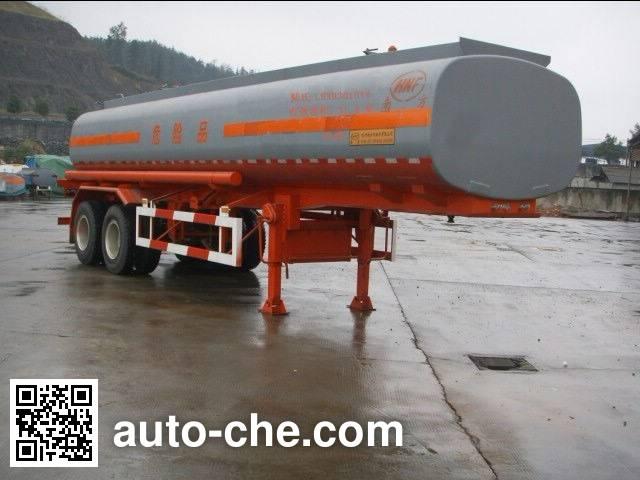 Lushi LSX9301GYY oil tank trailer