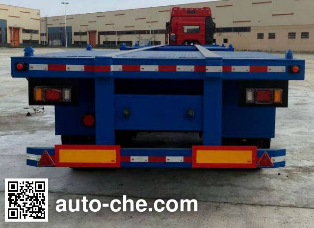 Lushi LSX9400TJZ container transport trailer