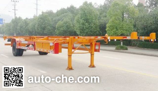 Nanming LSY9150TJZ empty container transport trailer