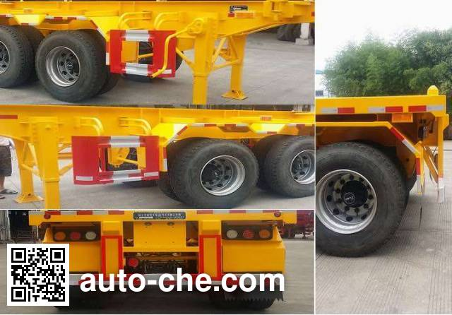 Nanming LSY9401TJZ container transport trailer