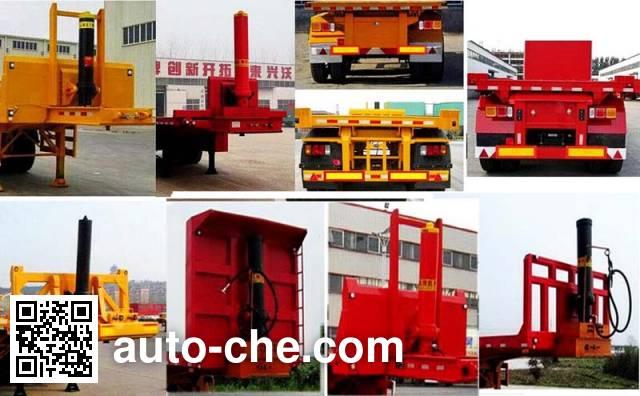 Liangyun LSY9400ZZXP flatbed dump trailer