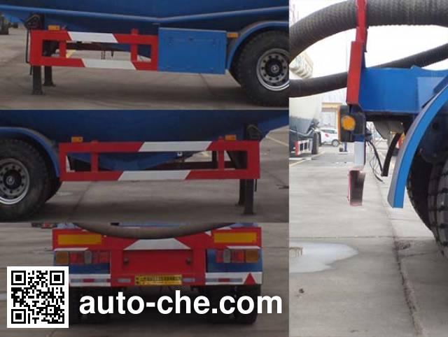 Liangyun LSY9402GFL low-density bulk powder transport trailer