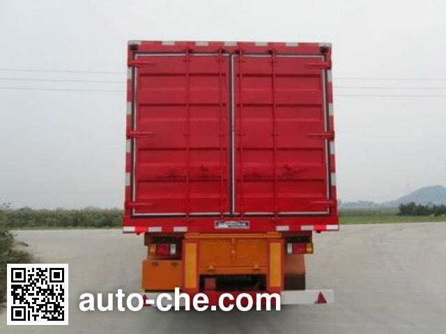 Nanming LSY9402XXY box body van trailer