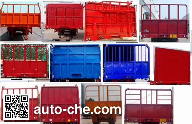 Liangyun LSY9402ZZXP flatbed dump trailer