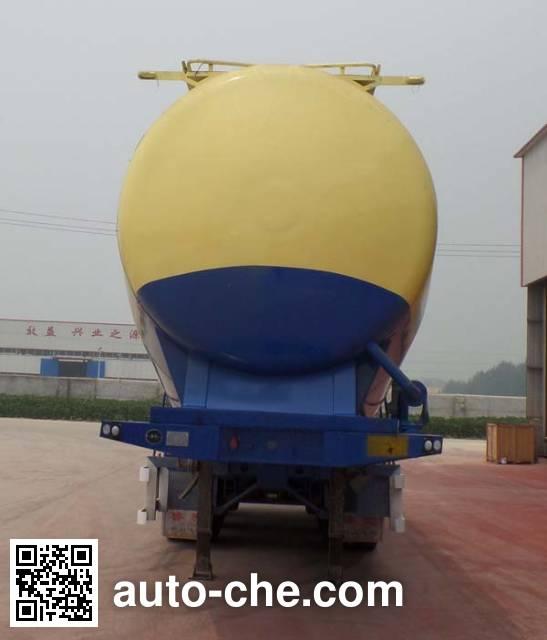 Liangyun LSY9403GFL low-density bulk powder transport trailer