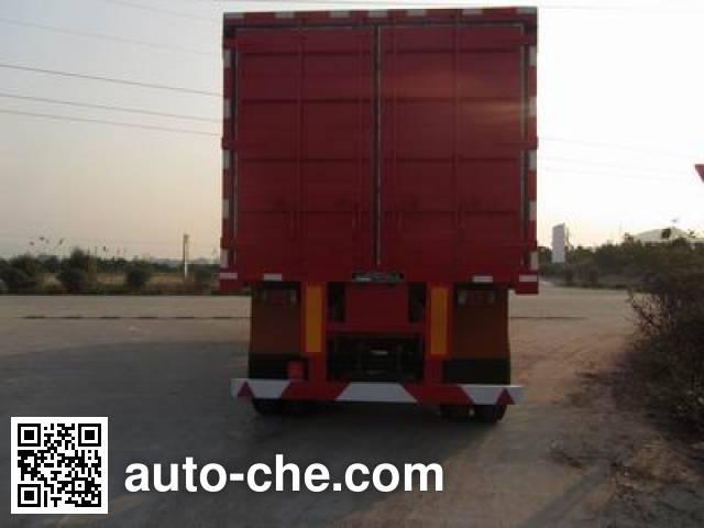 Nanming LSY9403XXY box body van trailer