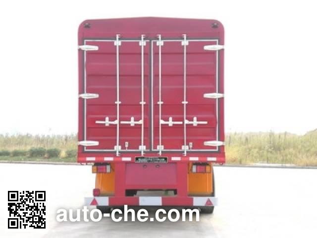 Nanming LSY9404XXYP soft top box van trailer