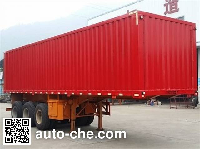 Nanming LSY9405XXY box body van trailer
