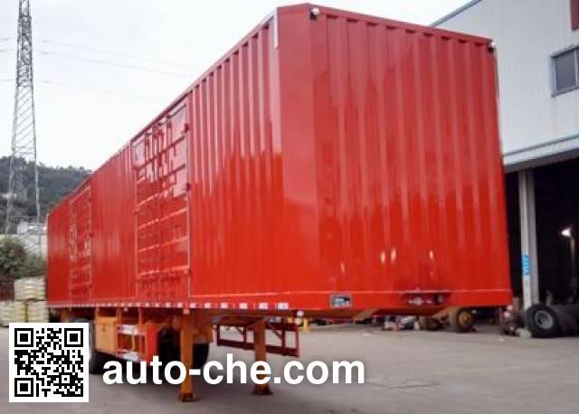 Nanming LSY9406XXY полуприцеп фургон