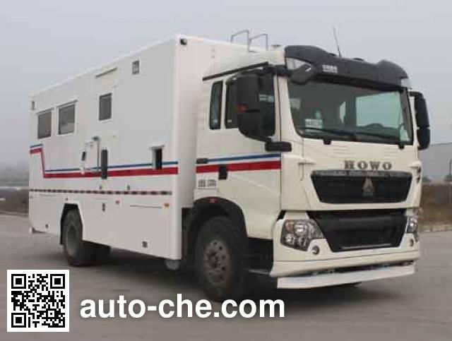 Lantong LTJ5122TBC control and monitoring vehicle
