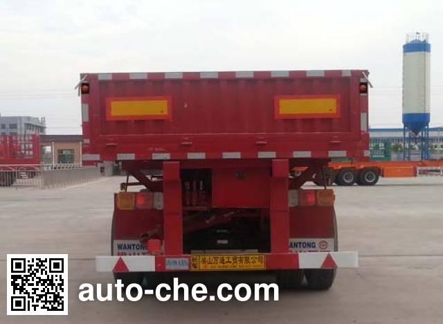 梁通牌LTT9400Z自卸半挂车