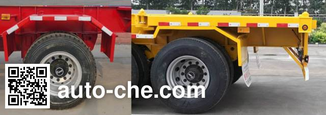 Jinxianling LTY9150TJZ empty container transport trailer
