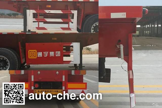 Jinxianling LTY9400ZZXP flatbed dump trailer